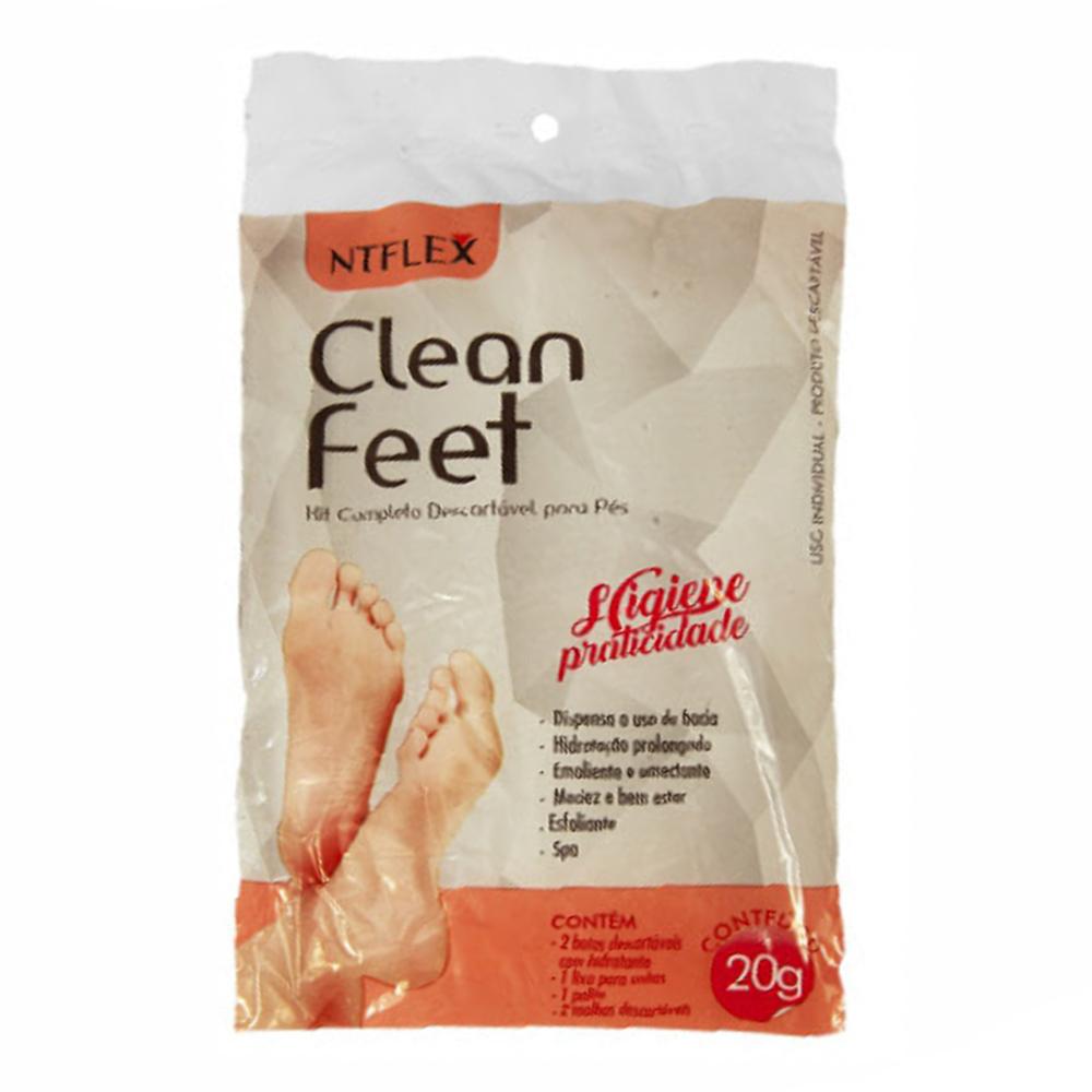 CLEAN FEET – KIT COMPLETO DESCARTÁVEL P/PÉS NTFLEX