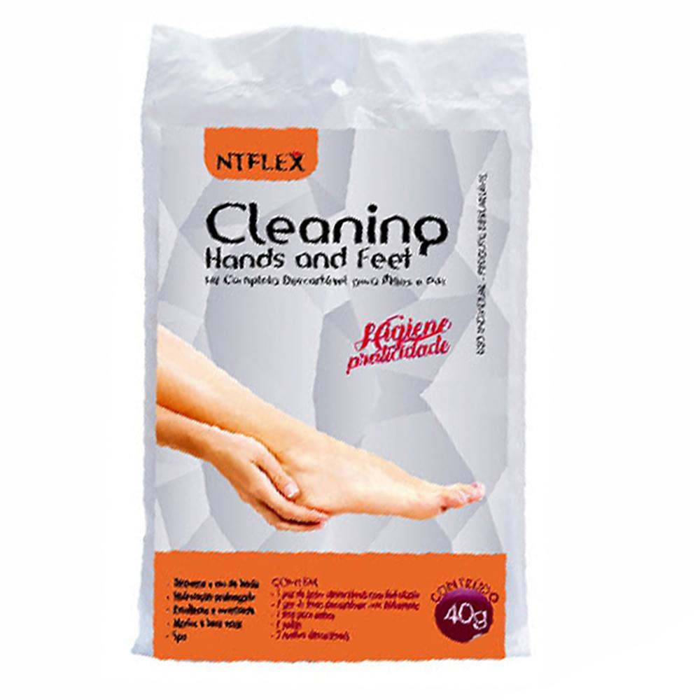 CLEANING HANDS AND FEET – KIT 2 EM 1 – MÃO E PÉ NT FLEX