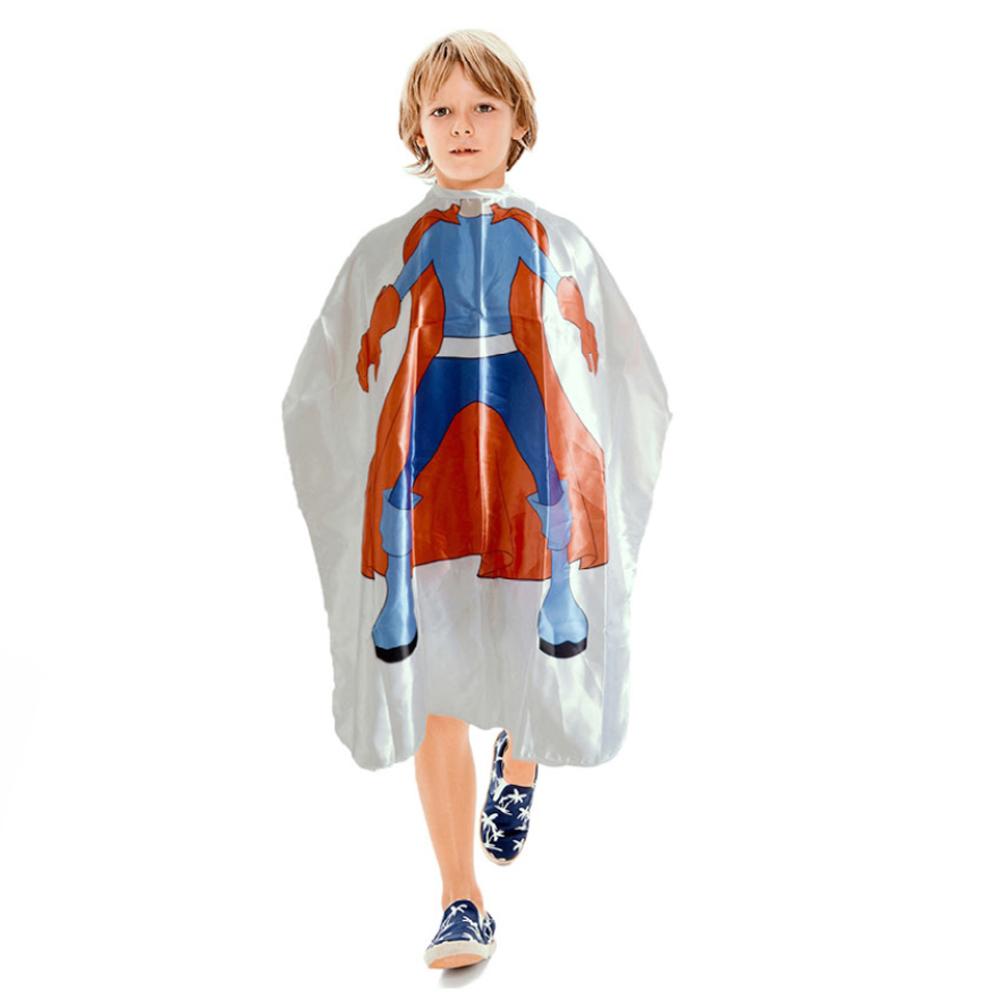 CAPA INFANTIL DE SEDA SUPER HEROI S/MANGA C/BOTAO NT FLEX